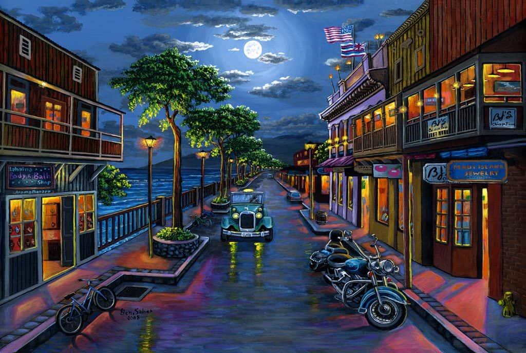 Front Street Moon