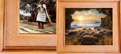 Hale Honu Kauai Rattan Frame Website