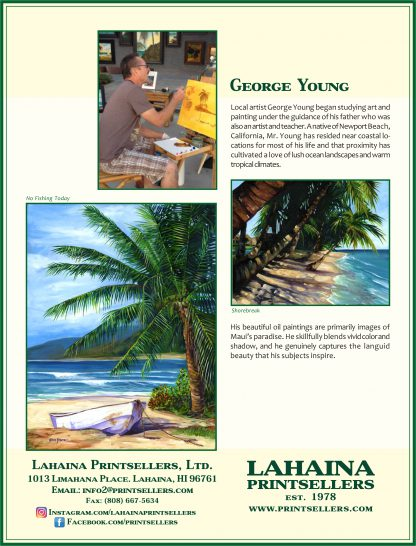 Lahaina Printsellers Artist George Young