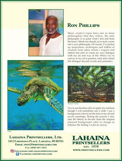 Lahaina Printsellers Artist Bio Ron Phillips