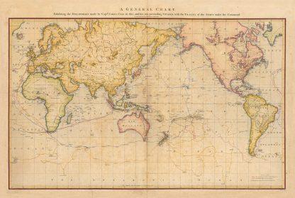 WM Cook General Chart 1784